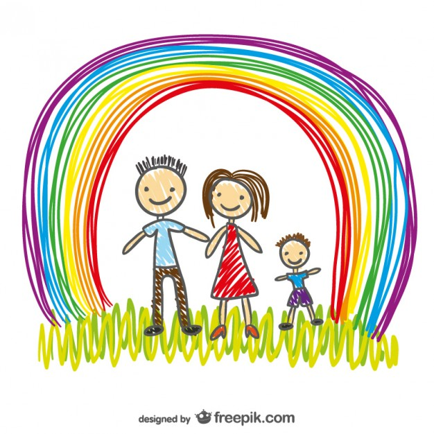 famiglia-felice-disegno-vettoriale_23-2147494188